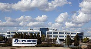 Hyundai Motor Manufacturing Alabama - Image: Hyundai Motor Manufacturing Alabama Highsmith 01