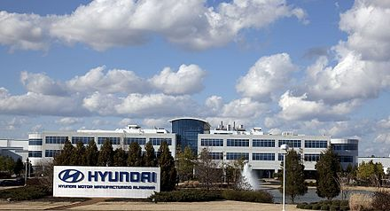 Hyundai Motor Manufacturing Alabama in Montgomery in 2010 Hyundai Motor Manufacturing Alabama Highsmith 01.jpg