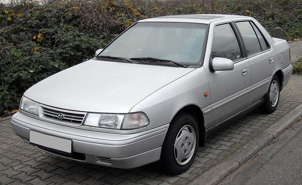 Hyundai Pony Вікіпедія