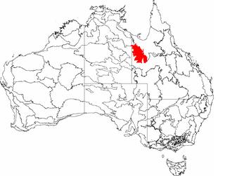 Mount Isa Inlier Region in Queensland, Australia