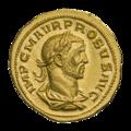 INC-1861-a Ауреус. Проб. Ок. 276—282 гг. (аверс).png
