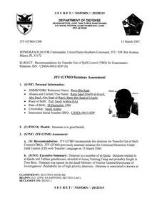 ISN 318's Guantanamo detainee assessment.pdf