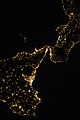 ISS-36 Night picture of Sicily and Messina straight.jpg