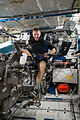 ISS-47 Tim Peake operates the MARES equipment inside the Columbus module.jpg