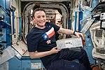 ISS-57 Serena Auñón-Chancellor works in the Destiny lab (2).jpg