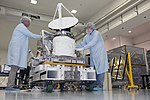 ISS-RapidScat in the Space Station Processing Facility (KSC-2014-2976).jpg