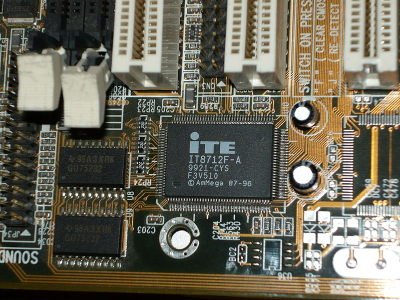File:ITE IT8712F-A and TI 98A3XRK 20100419.jpg