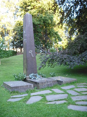 Cemetery of Our Saviour - Image: Ibsen grave 5
