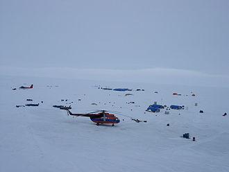 Barneo - Barneo Ice Camp