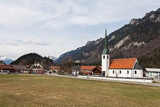 Ettal - Maria Schutz church in Graswang