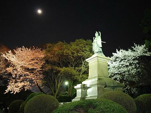 Ii Naosuke statue at Kamonyama park