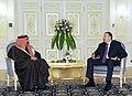 Ilham Aliyev met with the Emir of Qatar, Sheikh Hamad bin Khalifa Al Thani, 2012 02.jpg