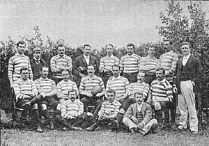 British and Irish Lions - Despite its label as an England side, the team which toured South Africa in 1891 contained several Scots.