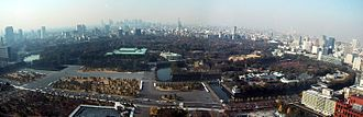 Imperial House of Japan - Panorama of the Tokyo Imperial Palace