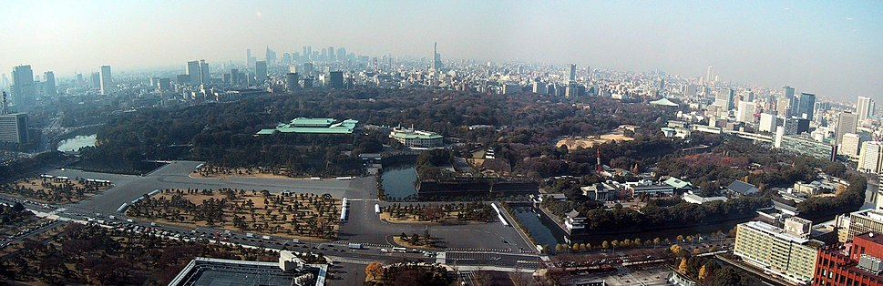 Imperial Palace Tokyo Panorama