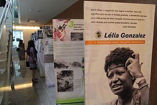 afrobrasilianische Aktivistin, Politikerin, Anthropologin und Hochschullehrerin