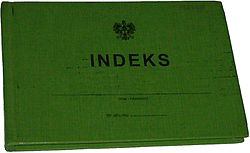 Indeks studencki