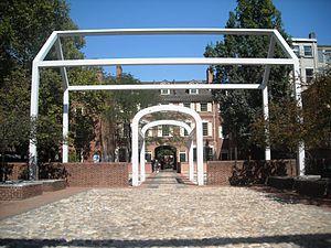 Franklin Court - Image: Independence National Historical Park 064