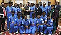 India's Blind World Cup Winning Team calls on PM (15996346435).jpg