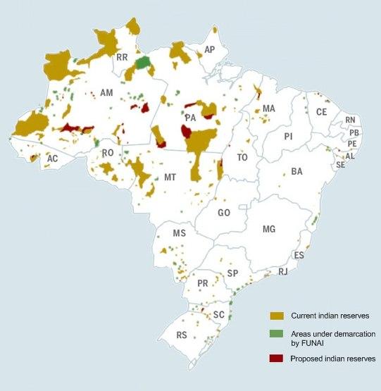 Indigenous brazil