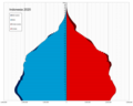 Indonesia single age population pyramid 2020.png