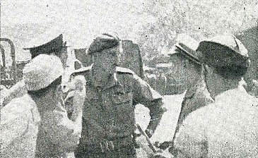 Indonesian delegate speaking to Mallaby, Impressions of the Fight ... in Indonesia, p16.jpg