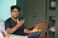Indrajit Das Speaks - Wikimedia Meetup - AMPS - Kolkata 2017-04-23 6861.JPG
