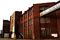 Industriegebäude Marinebau Voltmerstraße 71 D 71 E Hannover Blick aus Richtung Schulenburger Landstraße Höhe Tordurchfahrt.jpg