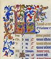 Initiales KL d'Août - Très Riches Heures du duc de Berry - f9r.jpg