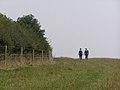 Inland coastal footpath on Hampton Down - geograph.org.uk - 242738.jpg