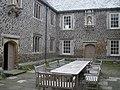 Inner courtyard, Cadhay House - geograph.org.uk - 1353570.jpg