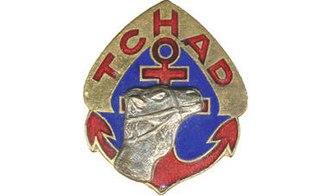 La Nueve - Image: Insigne régimentaire du Régiment de Marche du Tchad