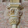 Interieur, detailopname van kapiteel, voor restauratie - Leiden - 20359815 - RCE.jpg