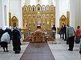 Interior of Epiphany Monastery during Service - Polotsk - Vitebsk Oblast - Belarus (27552798941).jpg