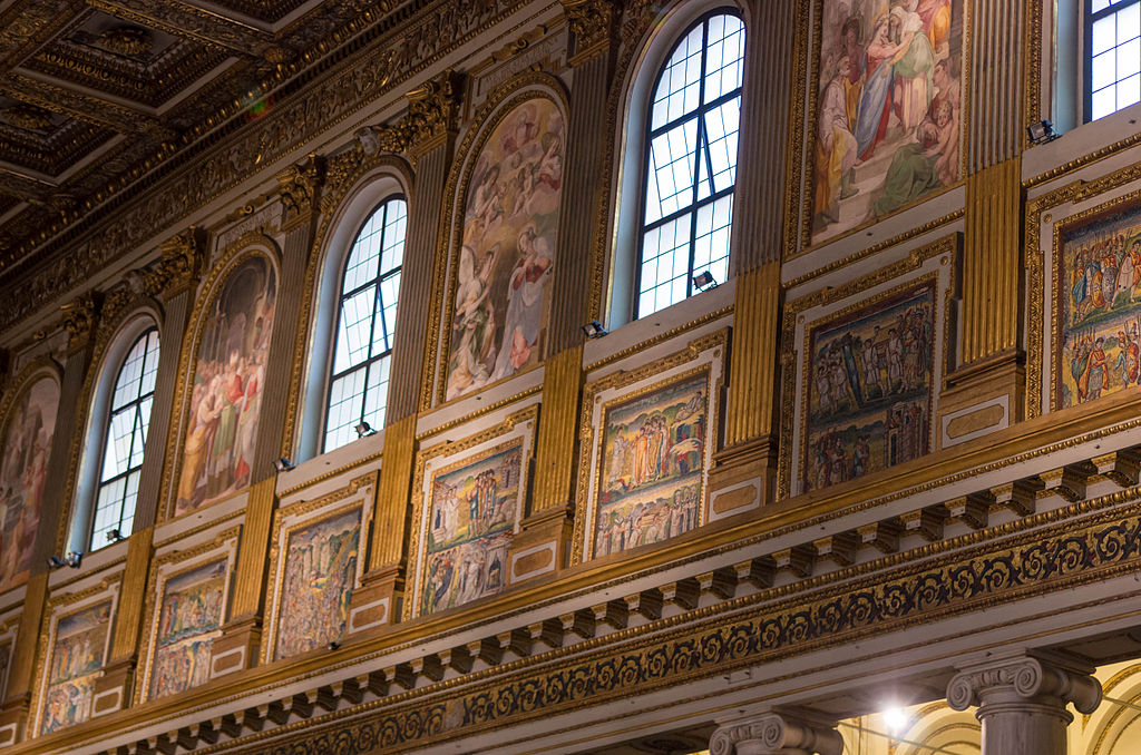 Interior of Santa Maria Maggiore (Rome) 16.jpg