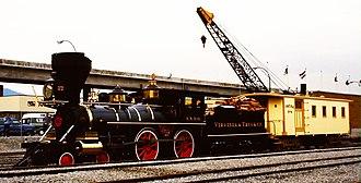 Virginia and Truckee 22 Inyo - Image: Inyo (Steam Expo 86)