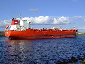Ioannis I p5 near locks of IJmuiden, Port of Amsterdam, Holland 28-Aug-2007.jpg