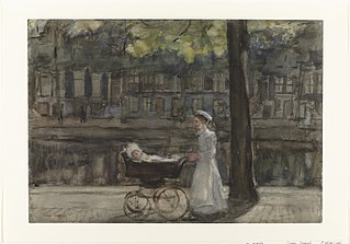 Housemaid with pram