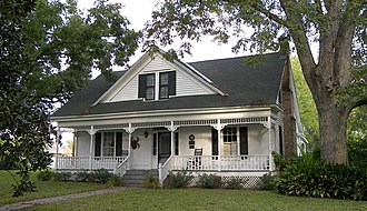 National Register of Historic Places listings in Washington County, Texas - Image: Isaac applewhite house 2008