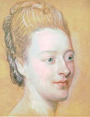 Isabelle de Charrière - Portrait of Isabelle de Charrière by Maurice-Quentin de La Tour, 1771 Saint-Quentin, Aisne, Musée Antoine-Lécuyer