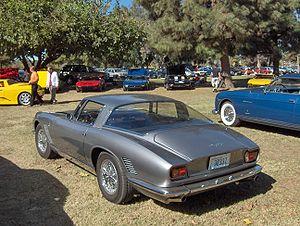 Bizzarrini - Iso Grifo Series I, rear view