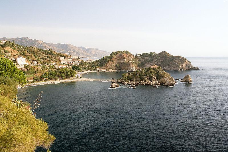Plik:Isola Bella Bay, Taormina, Italy, Sep 2005.jpg