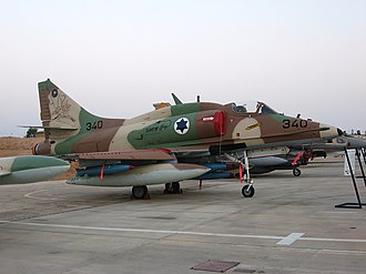 Operation Tagar - Israeli A-4 Skyhawk