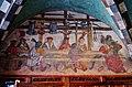 Issogne Castello d'Issogne Innenhof Fresken 10.jpg