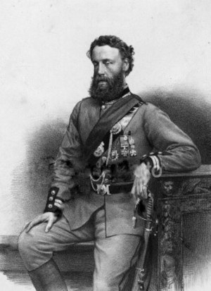 Robert Loyd-Lindsay, 1st Baron Wantage - Robert Loyd-Lindsay c.1882