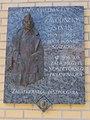 István Závodszky plaque, Mártírok Road, 2020 Zalaegerszeg.jpg
