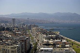 İzmir - A view of central İzmir