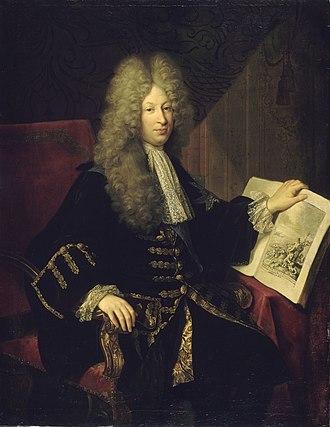 Jérôme Phélypeaux - Portrait of Jérôme Phélypeaux, comte de Pontchartrain