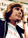 James Hunt in casual outfit in 1977