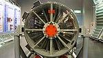 J79-IHI-11A turbojet engine(cutaway model) front view at JASDF Hamamatsu Air Base Publication Center November 24, 2014.jpg